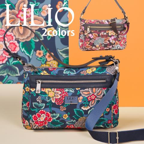 LiLiO【LIL9525】 2way bag  ワンショルダー&斜め掛けバッグ