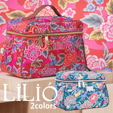 LiLiO【LIL9527】L Beauty Case 3色展開