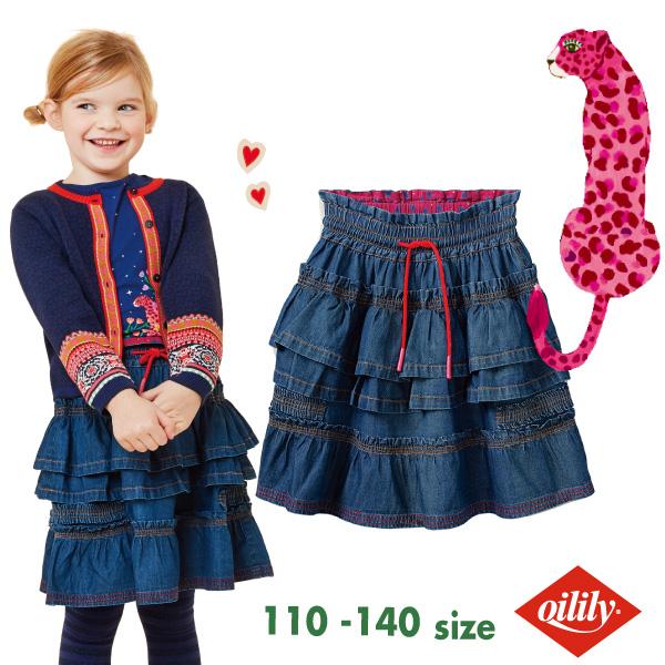 OILILY オイリリーScruffles skirt【yf20gsk201】92 104 116 128 140 サイズ