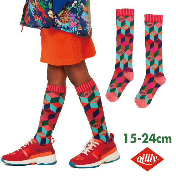 OILILY オイリリーMooshie knee socks 22-24cm【yf20gti203】【メール便可】