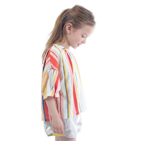OILILY【YS19GJE226】カラフルストライプTシャツ  92 104 116 128 140 152サイズ