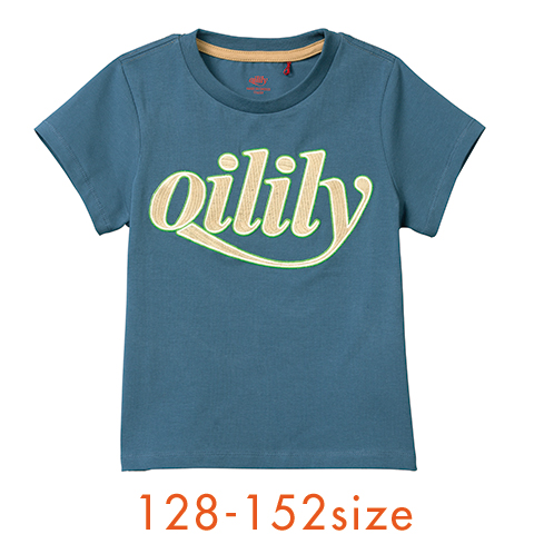 【YS21BJE501】ロゴTシャツ 128 140 152 サイズ