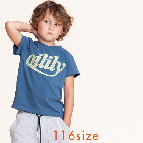 【YS21BJE501】ロゴTシャツ 116サイズ
