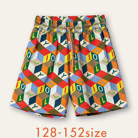 【YS21BPA501】Plank ショートパンツ 128 140 152サイズ
