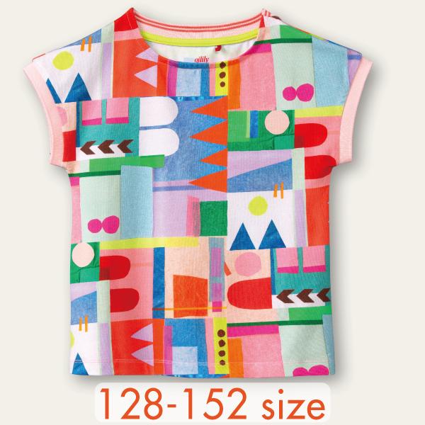 【YS21GJE206】Shape on Shape Tシャツ  128 140 152サイズ