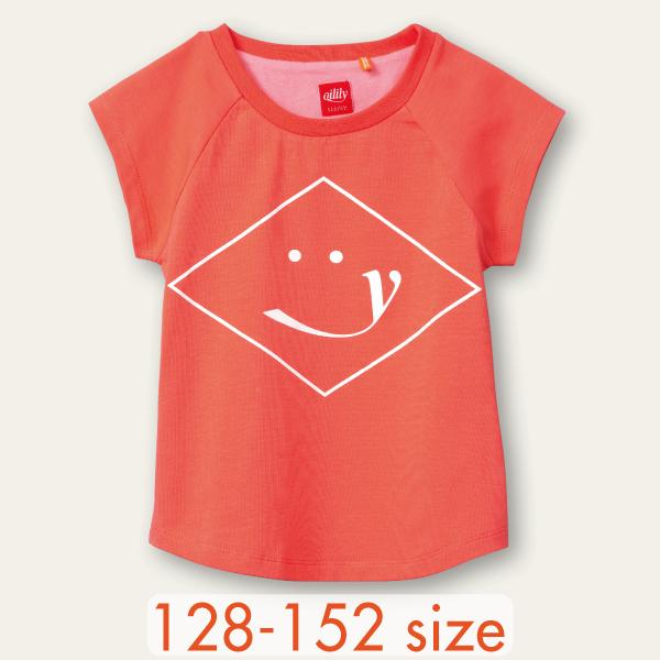 【YS21GJE218】オイリリー スマイル  Tシャツ  128 140 152サイズ
