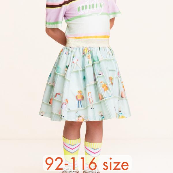 【YS21GSK204】ロボットエンジェル スカート  92 104 116サイズ