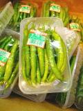 【Ve】【Oishiina Shop】甘長唐辛子〈アマナガトウガラシ〉1パック、100g前後、10から20本前後