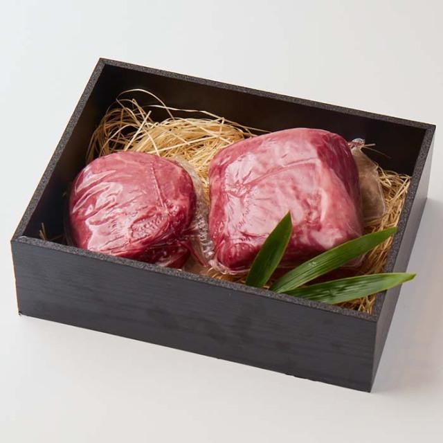 【贈答用木箱入り】美笑牛ランプステーキ300g