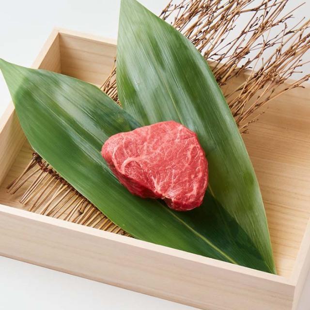【贈答用木箱入り】美笑牛ランプステーキ 150g