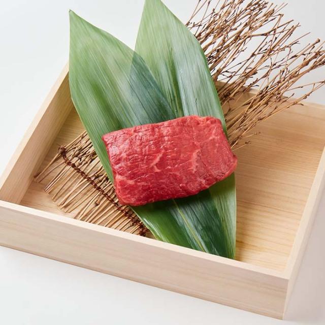 【贈答用木箱入り】美笑牛赤身ステーキ 200g