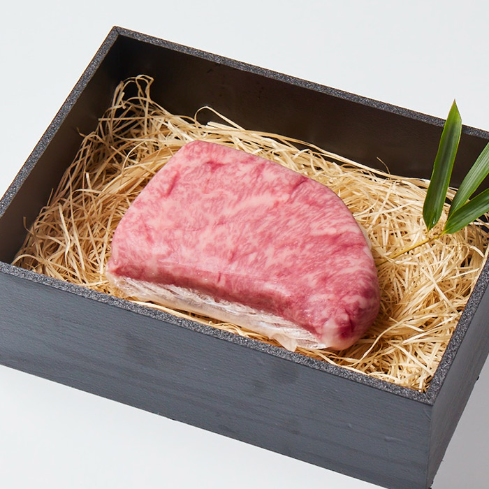 「美笑牛」霜降りステーキ(200g)