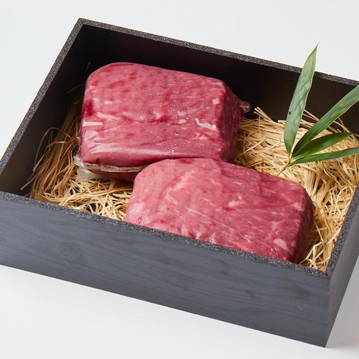 「美笑牛」赤身ステーキ(200g)2個セット