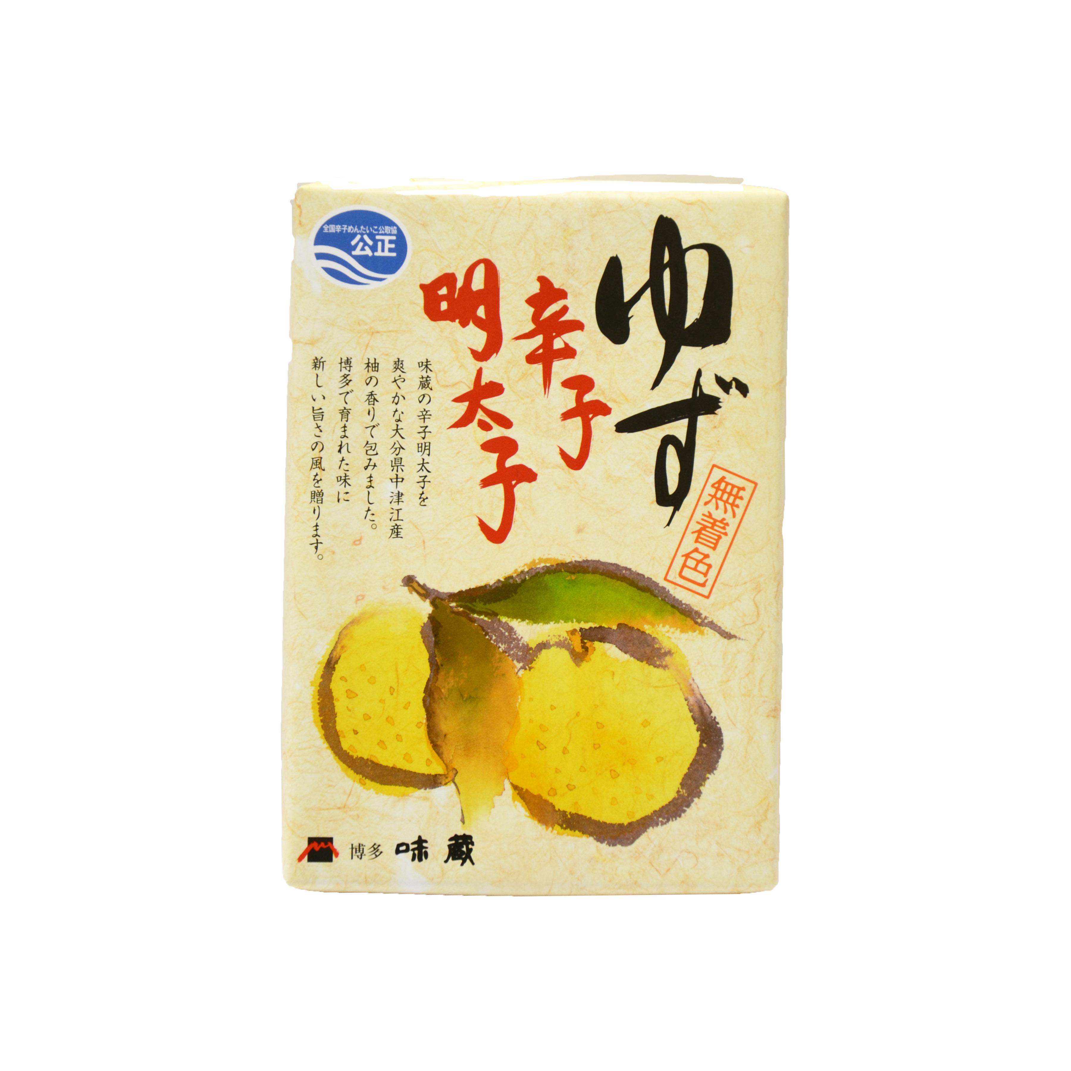 【味蔵 ゆず辛子明太子】150g