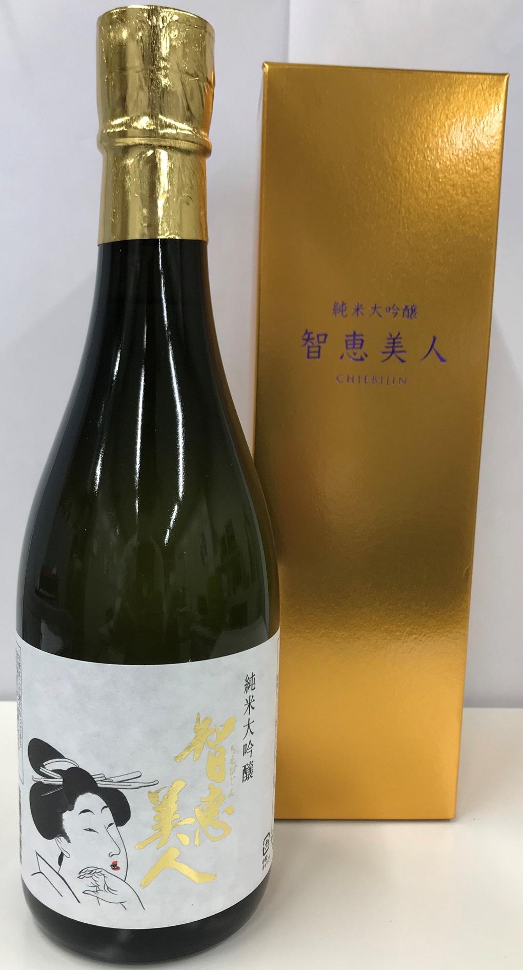 【清酒】中野酒造『知恵美人~純米大吟醸』