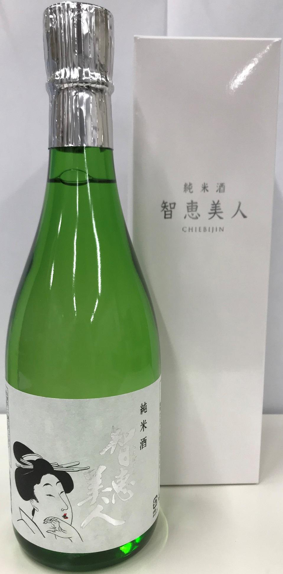 【清酒】中野酒造『知恵美人~純米酒』