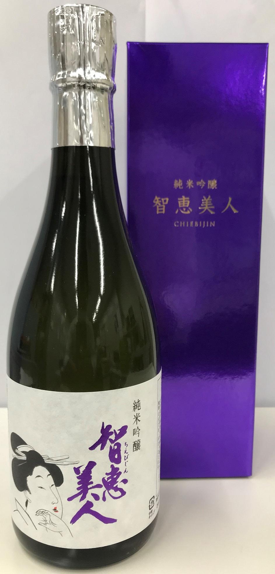 【清酒】中野酒造『知恵美人~純米吟醸』
