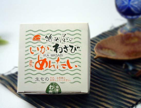 鳴海屋【いかわさびめんたい】150g