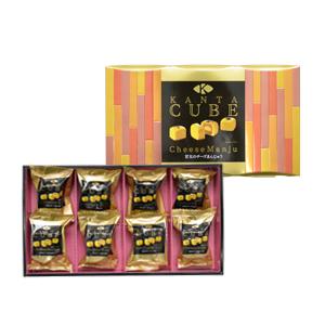 【KANTA CUBE】甘太のチーズまんじゅう 8個入
