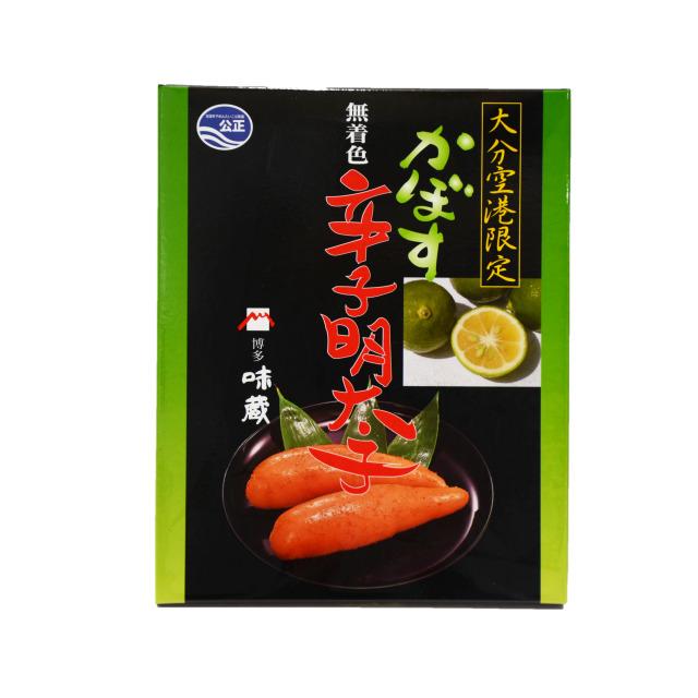 【味蔵 かぼす辛子明太子】300g