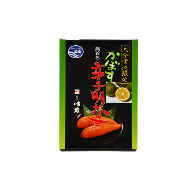 【味蔵 かぼす辛子明太子】150g