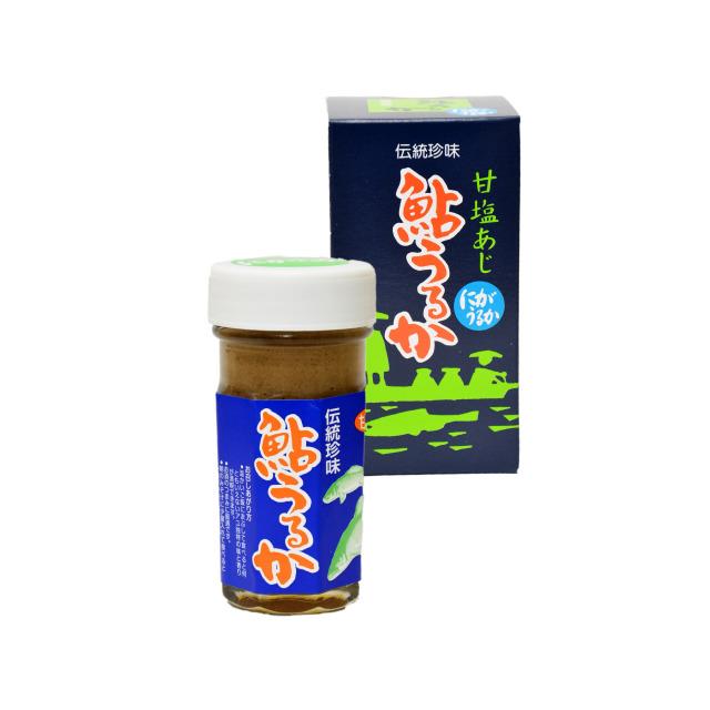 大分県産 伝統珍味!【鮎にがうるか(甘塩)】80g