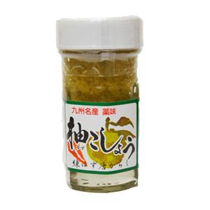 九州名産薬味【かぼす本家・柚こしょう(青)】60g