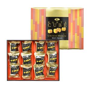 【KANTA CUBE】甘太のチーズまんじゅう 12個入