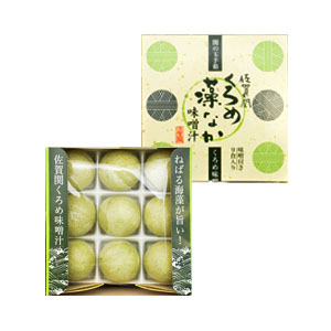 佐賀関 くろめ藻なか味噌汁(9食入)