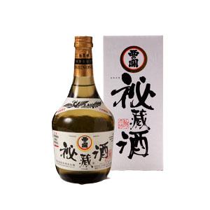 【清酒】萱島酒造 西の関大吟醸酒『秘蔵酒』