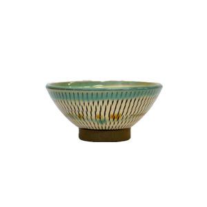 小鹿田焼・茶碗