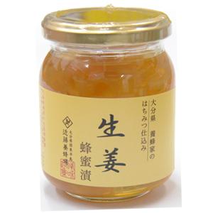 近藤養蜂場【生姜蜂蜜漬】