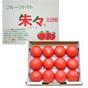 大分県産 塩熟フルーツトマト『朱々』
