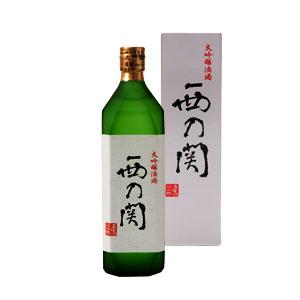 【清酒】萱島酒造 西の関大吟醸『滴酒』