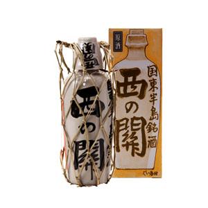 【清酒】萱島酒造 西の関原酒徳利