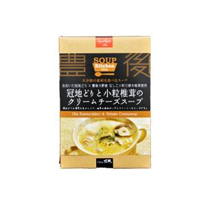 SoupKitchenOita【冠地どりと小粒椎茸のクリームチーズスープ】