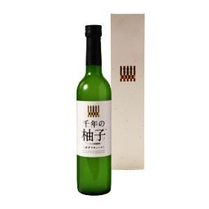 【リキュール】三和酒類 千年(ちとせ)の柚子