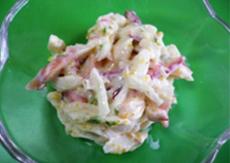 カナダホッキ貝サラダ