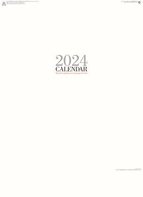 カレンダー 2018年家庭用 『NK-200 シンプル フェイス(大)』