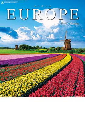 名入れカレンダー2022年『NK-28 ヨーロッパ』