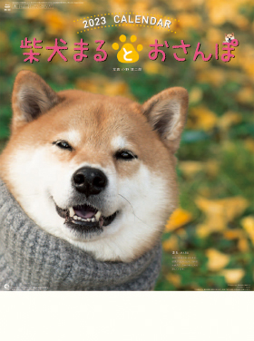 カレンダー 2018年家庭用(小売) 『NK-35 柴犬まるとおさんぽカレンダー』