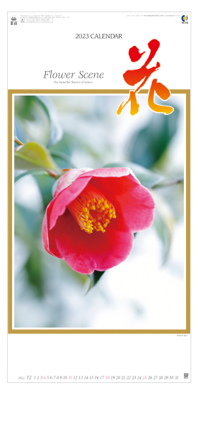 名入れカレンダー2022年 『NK-494 花 』
