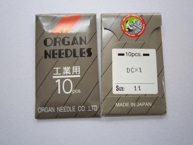 DC×1 工業用オーバーロックミシン針【メール便可】