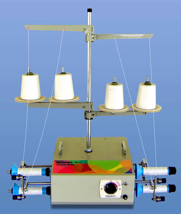 HW−40C ユニバーサルワインダー 糸分け器