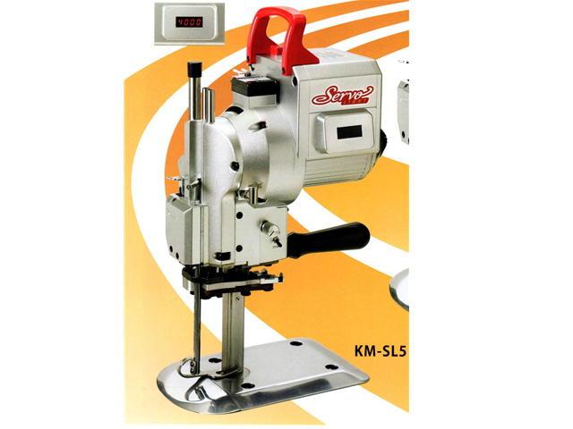 KM 竪刃裁断機 KM-SL 5インチ 100V サーボライト小型裁断機