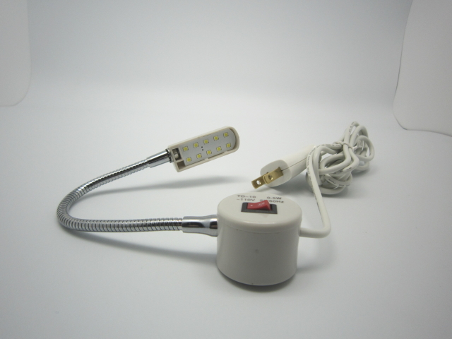 TD-10 マグネット式LEDミシンライト 小型タイプ ライト10