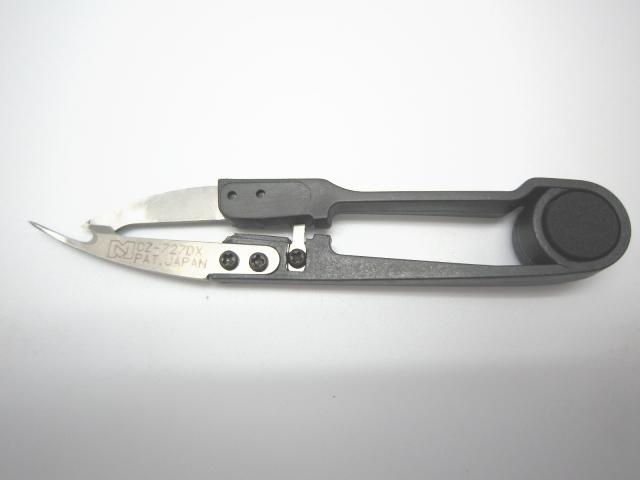 リッパー型糸切りバサミ CZ-727DX NIPPO【メール便可】