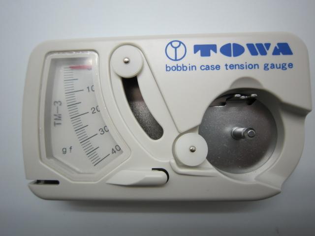 ボビンケース テンションゲージ(下糸張力測定器)倍釜タイプ TM-3