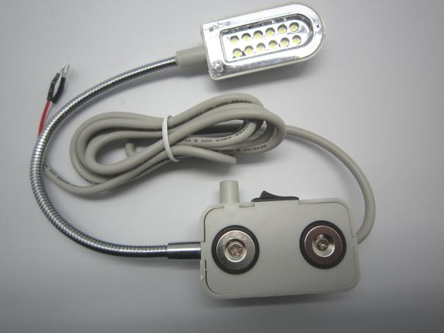 <アウトレット品>マグネット式調光付きLEDライト 200V