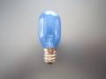 ベビーロック ナツメ球(交換用電球 ブルー) 110V 15W  【メール便可】